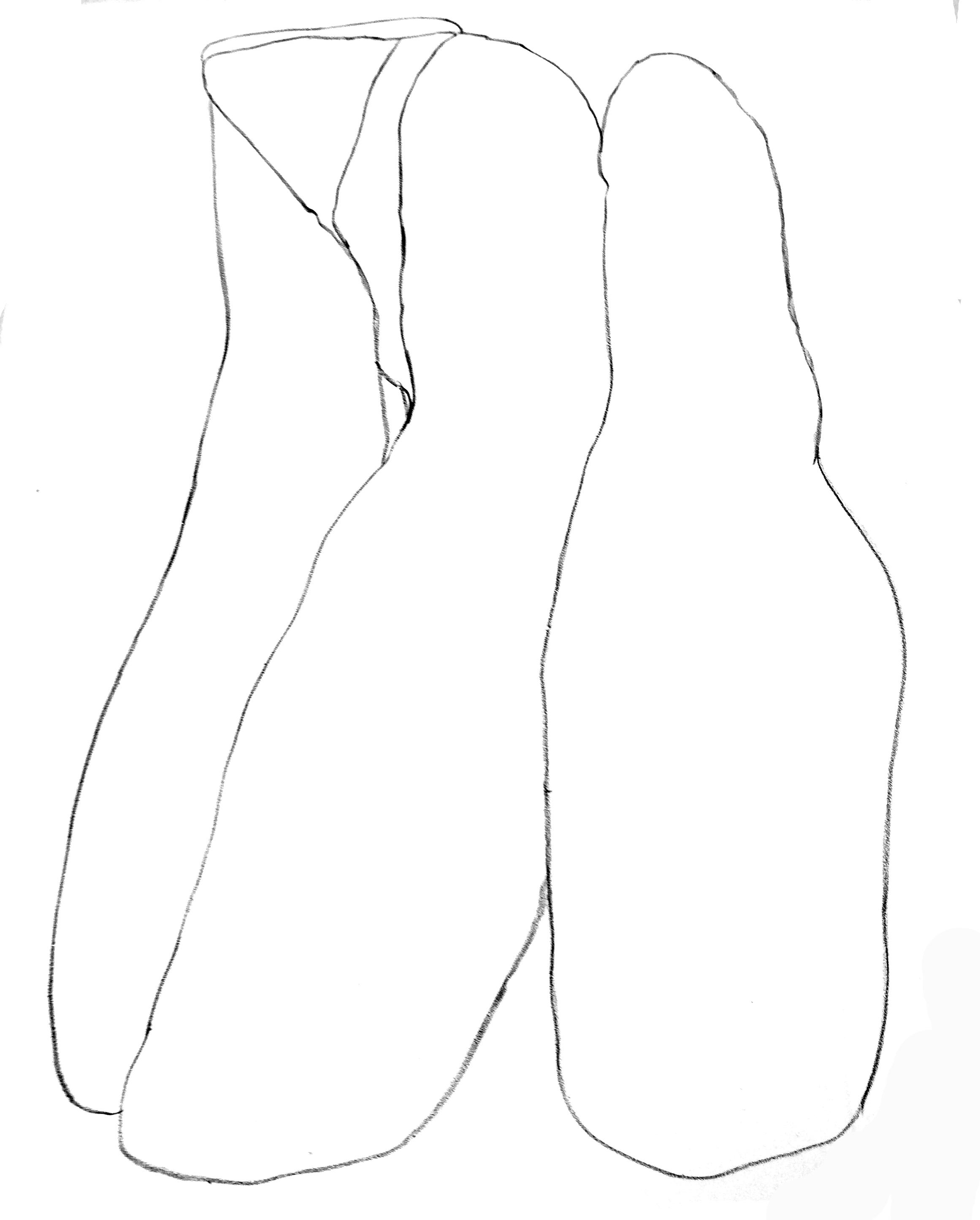 Corps, 56 x 76 cm